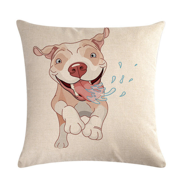 French Bull Dog Martini Pillow Cover