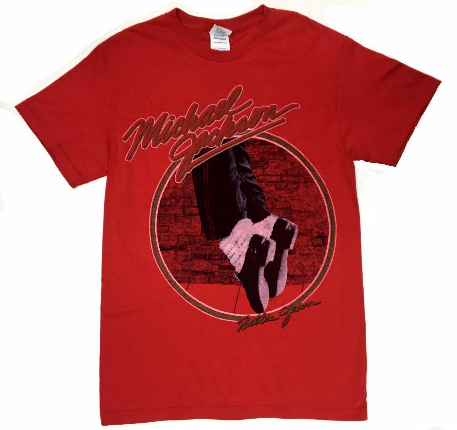 Michael Jackson BILLIE JEAN T-Shirt 100% Authentic & Official
