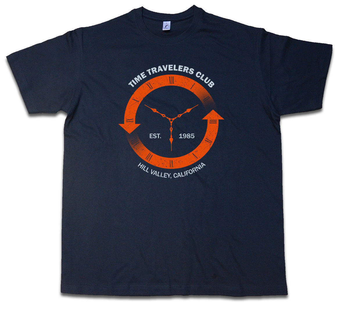 TIME TRAVELERS CLUB T-SHIRT - Back To Shirt The Mc Fly Future Sizes S - 5XL