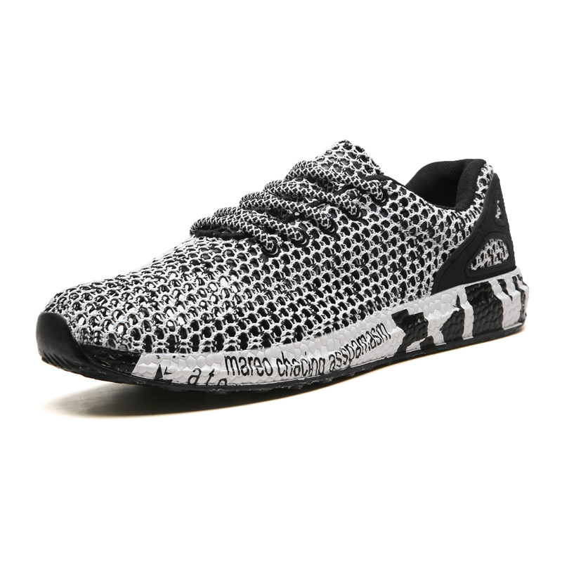 2019 Summer New High-quality Fly Knit Hollow Tennis Shoes Men Soft Stable Non-slip Sneakers Male Fitness Sneakers Sport Shoes2019 Summer New High-quality Fly Knit Hollow Tennis Shoes Men Soft Stable Non-slip Sneakers Male Fitness Sneakers Sport Shoes
