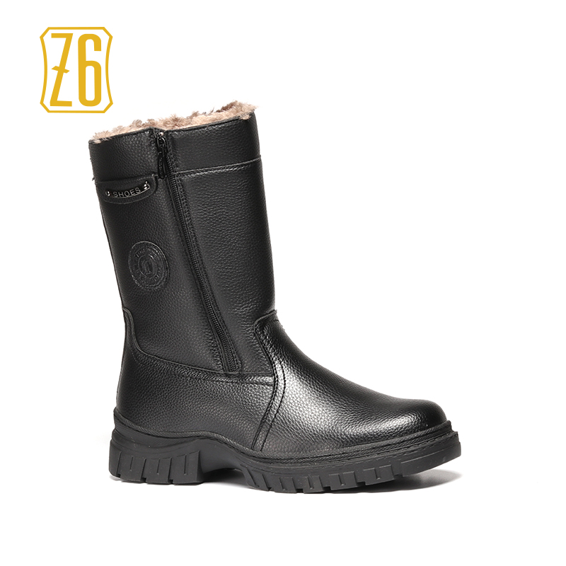 40-45 men winter boots warm comfortable 2018 working safety winter men shoes #K23-7A