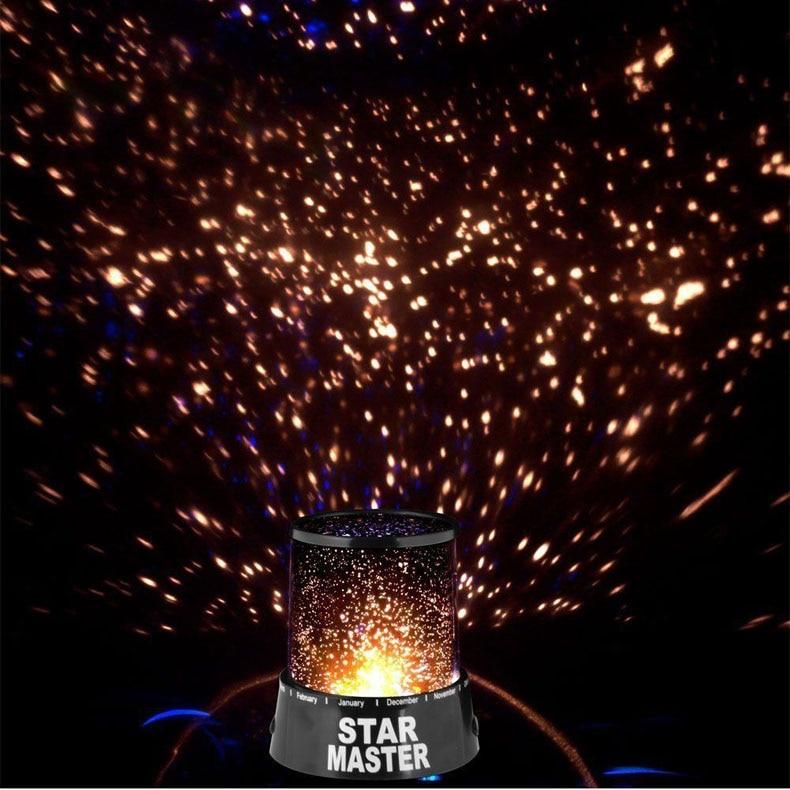 Star Mater Night Light Sky LED Projector Mood Lamp Kids Bedroom LKS99