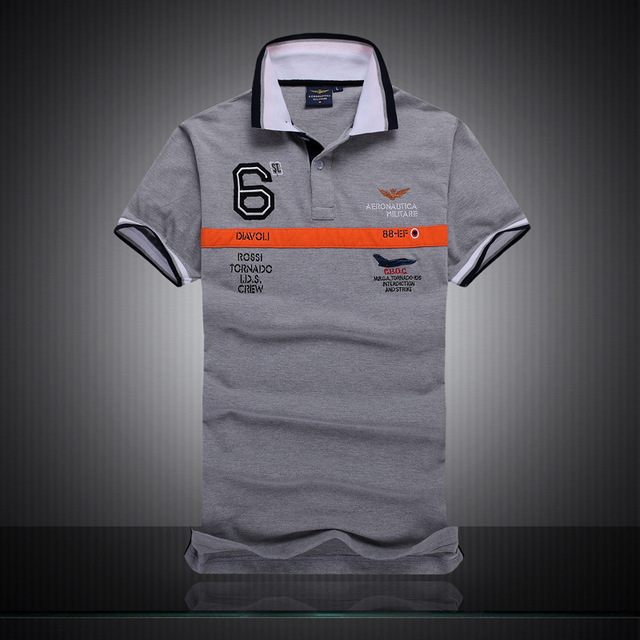 1dd2853ab8b Polo New 2016 Famous Brand Aeronautica Militare Men Polo Shirts Brand  Cotton Top Quality Short Sleeve
