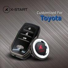 X-старт Keyless Go Smart Key Автозапуск нажмите дистанционного кнопку запуска автосигнализации для Toyota Camry Corolla Yaris Highlander Prado