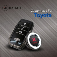 x start Keyless Go Smart Key Keyless Entry Push Remote Button Start Car Alarm for toyota camry corolla yaris highlander prado