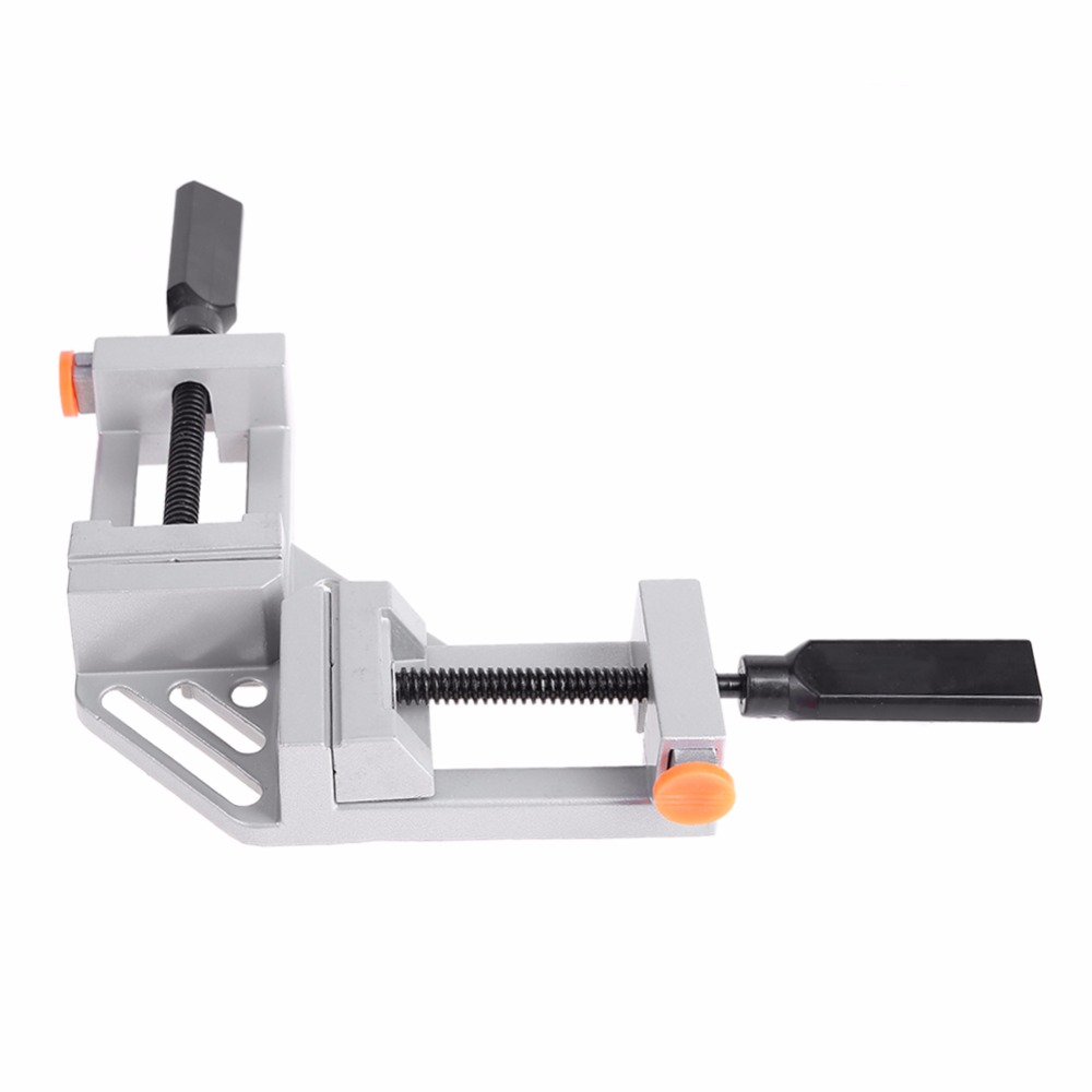 Image 4 - 90 Degree Right Angle Clamp Mitre Clamps Corner Clamp Picture Holder Woodwork Aluminum Alloy Right Angle Corner Clamp-in Clamps from Home Improvement