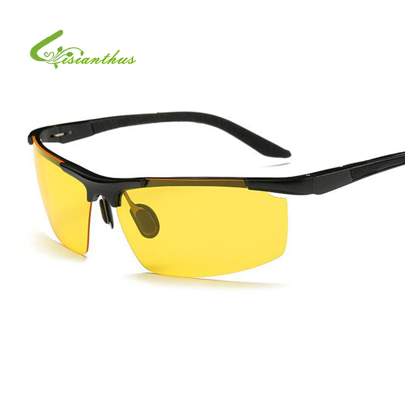 Men/'s HD Night Vision Polarized UV400 Driving Glasses Outdoor Goggles Sunglasses