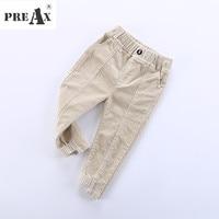 Joggers Boys Pants 2018 Spring New Korean Solid Corduroy Trousers Fashion Irregular Design Sport Casual Pant