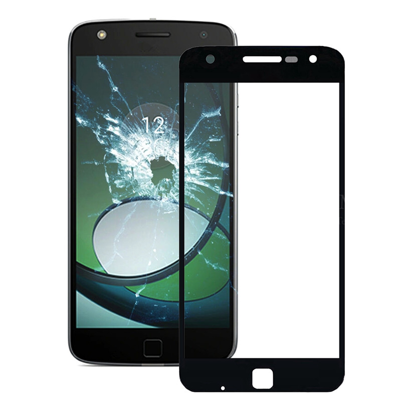 iPartsBuy Front Screen Outer Glass Lens for Motorola Moto Z Play / <font><b>XT1635</b></font> image