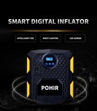 Digital Tire Inflator DC 12 Volt Car Portable Air Compressor Pump 150