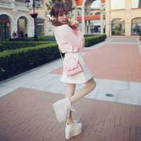 Princess sweet lolita skirt Bobon21 exclusive design good match candy color love buckle cowboy skirt A word skirt B1345