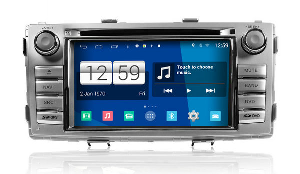 S160 Android 4 4 4 CAR DVD font b player b font FOR TOYOTA NEW HILUX