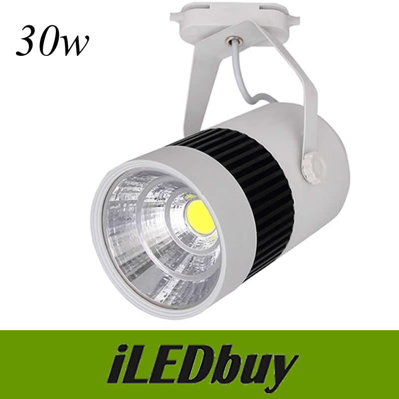 Us 564 0 Led Track Spotlights 30w Rail Flexible Lamp For Home Kitchen Ceiling Lighting High Quality Ac85 265v Ce Rohs By Dhl In