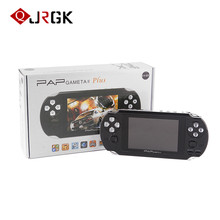 JRGK Game Consoles Handheld  Portable 64 Bit Mini Video Games Players Support TV Out 4.3 inch HD TFT 4GB MP3 MP4 MP5 Camera