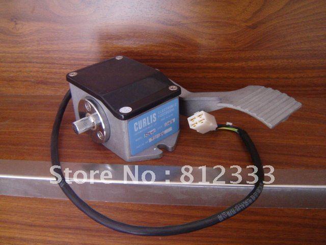 RJSQ 001 0 5V ELECTRONIC FOOT PEDALS FORKLIFT THROTTLE FOR CURTIS MOTOR CONTROLLER ELECTRIC FORKLIFT GOLF