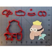 Spongebob Squarepants Barnacle Boy Cookie Cutter Design Fondant Cupcake Mould Custom Made 3D Printed Biscuit Cutters Molds
