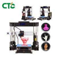 A8 3D Printer 0.4mm Nozzle Reprap i3 Aluminium Alloy Hotbed Pritner DIY Kit Filament