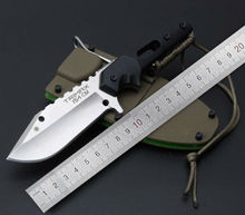 Dwaine Carrillo DC-3 Fixed Blade Knife Hunting Knife Survival Tactical Knives Camping Outdoor Tools With ABS Sheath