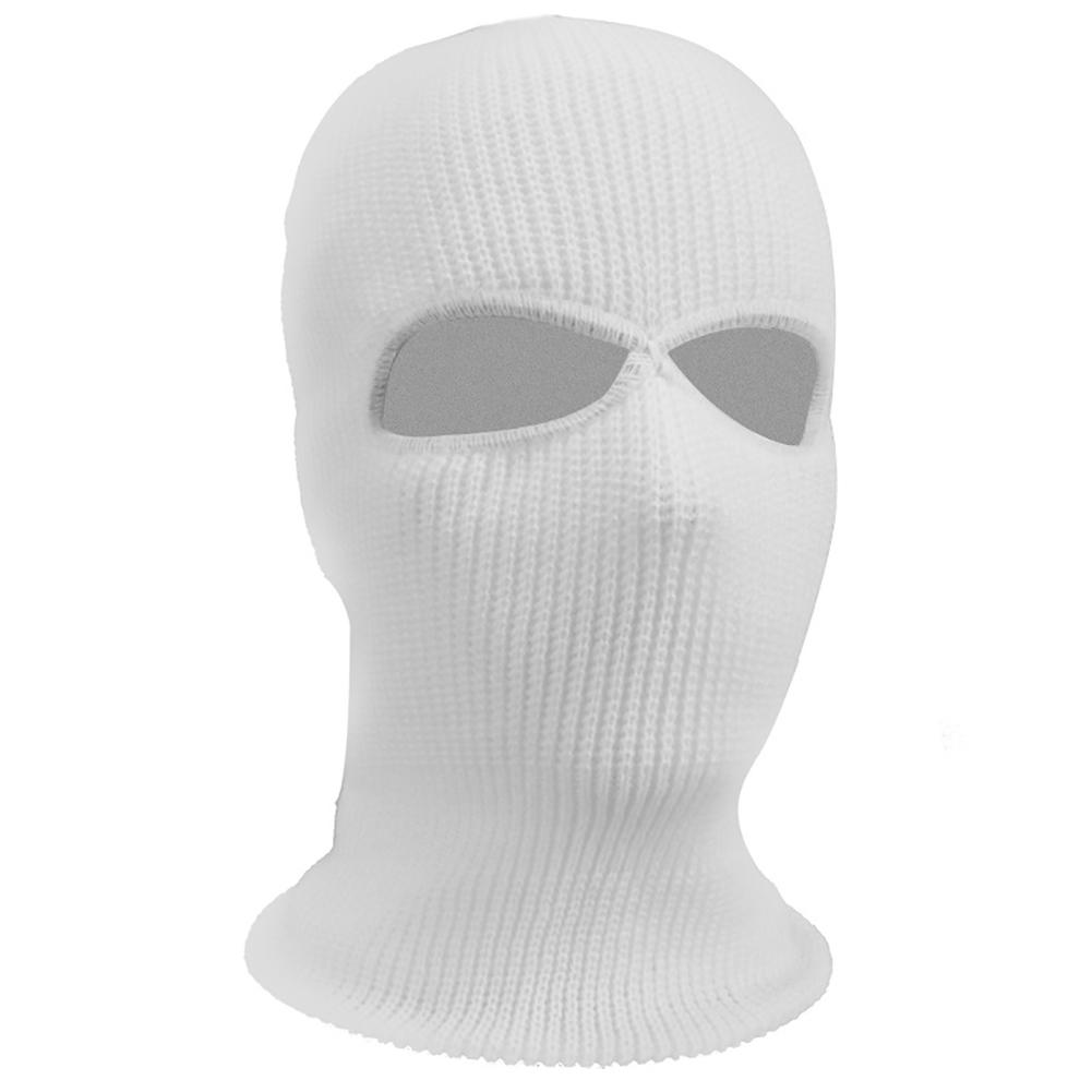 Balaclava Hats Ski Military Tactical Airsoft Cap Hood Motorcycle Bike Hunting Cycling Paintball 2 Hole Black Full Face Mask Selling Well All Over The World Back To Search Resultshome