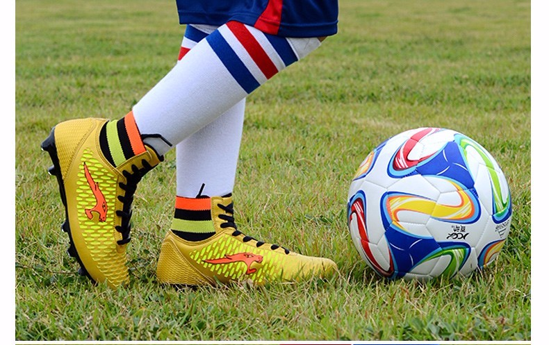 High Ankle Football Boots Kids Soccer Cleats Teenagers Outdoor AG Training Sneakers Botines Botas Futbol 2017 Superfly Original 4