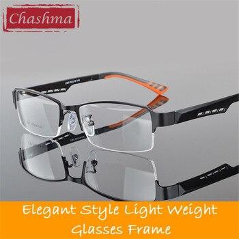 e85c7cee56 Chashma Venta caliente gafas de producto terminado marco óptico de visión  única de moda de los hombres miopía gafas