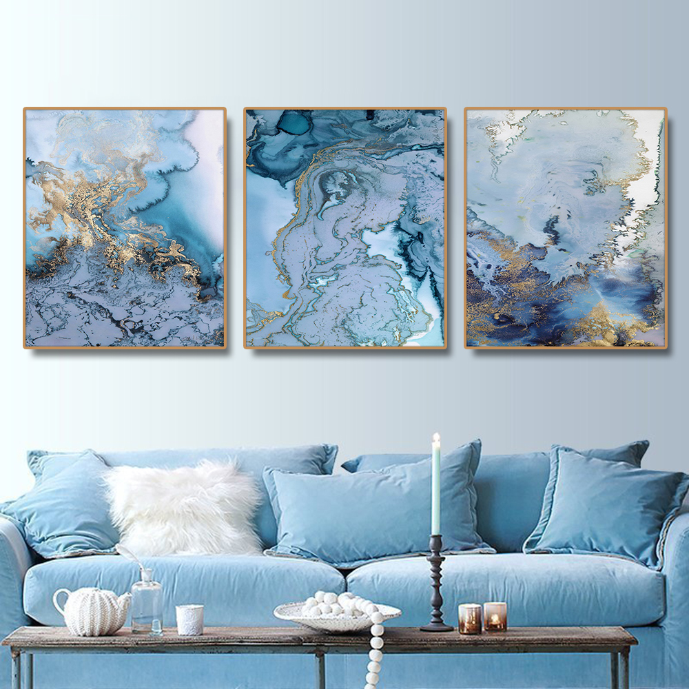 Abstract Artistic Nordic Poster Canvas Painting Calligraphy Prints Picture For Living Room House Wall Decor Art Home Decoration(China)