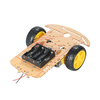 2WD Tracing Car Electronic DIY Kit 2 Wheel Smart Car Chassis DIY Kit Quality Motors Speed
