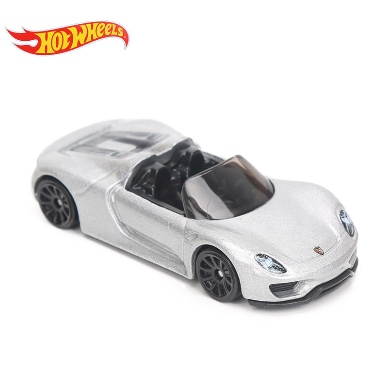 все цены на 2018 Hotwheels 1:64 Box Fast and Furious Diecast Cars Spyder Factory Fresh Metal Model Hot Wheels Car Toy for Boys Carros 8H онлайн