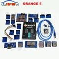 Dhl envío de la nueva llegada de la alta calidad del oem orange5 orange 5 programador programador con el adaptador y el software