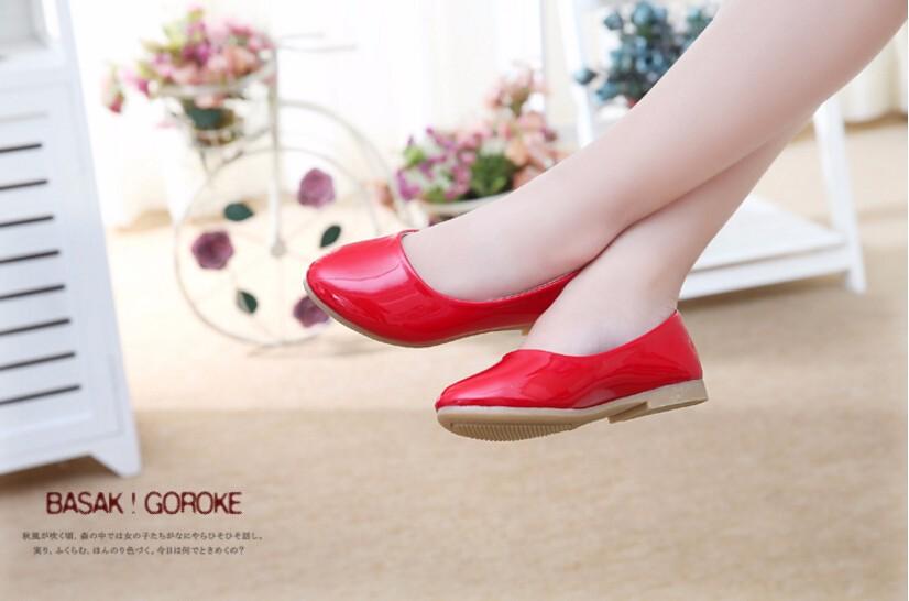 girl leather shoe-20