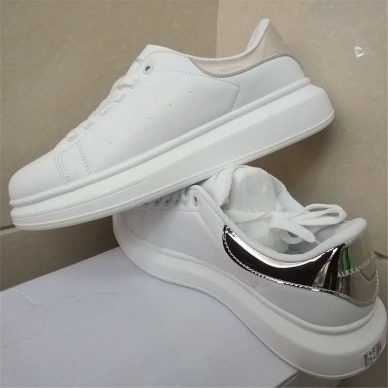 Top quality Spring Designer Wedges White Shoes Female Platform Sneakers Women Tenis Feminino Casual Female Shoes Mcqueens WomanTop quality Spring Designer Wedges White Shoes Female Platform Sneakers Women Tenis Feminino Casual Female Shoes Mcqueens Woman