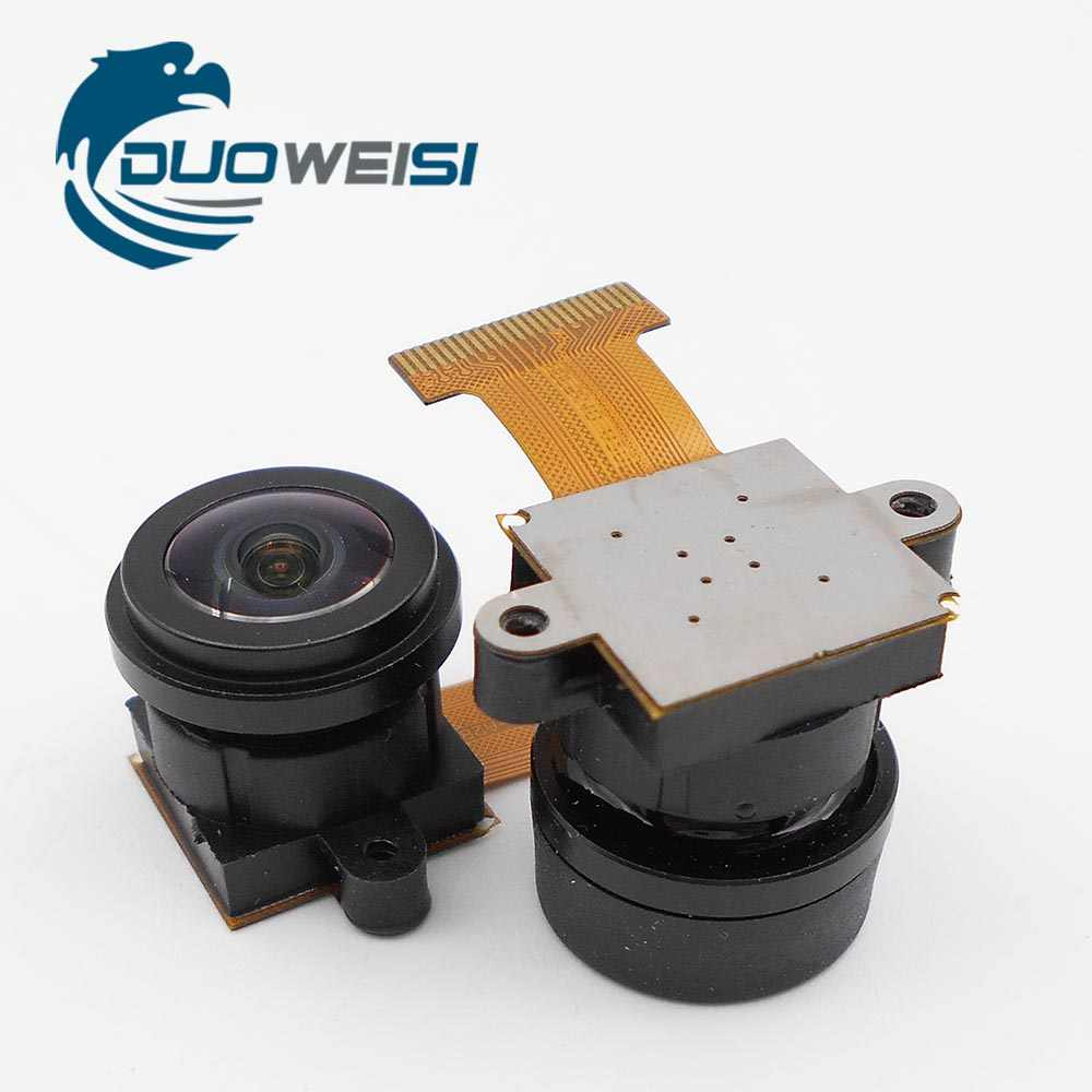 OV5640 Gebruik Voor Sport Dv, Intelligent Parking Apparatuur 180-Graden Camera Module 24PIN 0.5 Mm Pitch