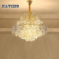 Post modern minimalist LED crystal chandelier design style modern unique new living room chandelier