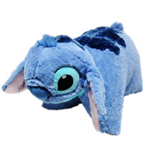 Rare Special Original Movie Cartoon Stitch 626 Cute Stuff Plush Toy Cushion Pillow Baby Birthday Gift original special cartoon mini vintage goofy dog cute soft stuff animal plush toy birthday gift 10cm collection