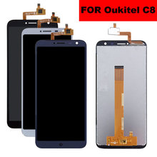 1280*640 For Oukitel C8 LCD Display+Touch Screen Digitizer Assembly Repair for phoneOukite c 8 TOUCH