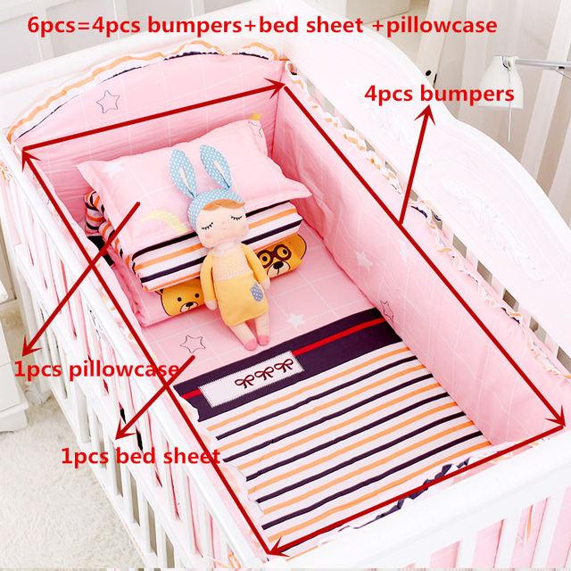 3e9767eec6aa Товар 6pcs set Blue Universe Design Crib Bedding Set Cotton Toddler ...