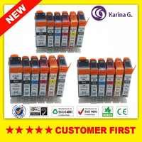 18xインクカートリッジ用canon pgi525 cli 526 bk 526c 526メートル526y 526グレー用canon pixma mg6150 mg6250 mg8150 mg8250用pgi-