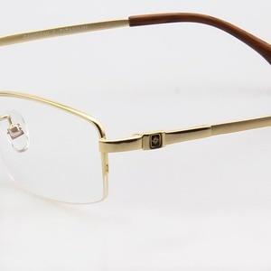 Image 5 - RUI HAO EYEWEAR Eyeglasses Frame Titanium Alloy Glasses Frame Men High elasticity Eyeglasses Frame Memory Spectacle 33018