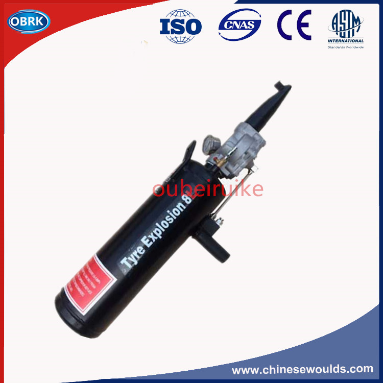 Export Quanlity  8L Pistol Tire Inflator Blaster Portable Tyre Bead seater 8 in 1 brass inflator tire valve inflation adapters connectors