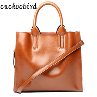 Real Genuine Leather Women Handbag Tote Bag Casual Style Ladies Satchels Shoulder Bags Wholesale Price 2017