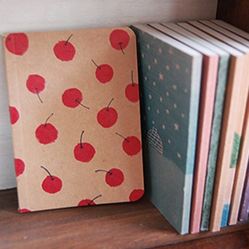 12.5*9cm Stationery Vintage Pastel Drawing Pastels Pockets Notepad Lovely Notebook 8 Styles Pocket Book