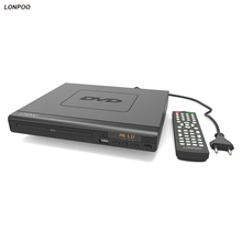 LONPOO 2017 Newest DVD Player support HDMI Multiple Languages USB Reaser US & EU standard dvd player DVD MP3