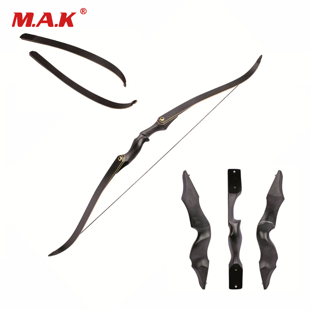 F171 American Recurve Bow 30-55 LBS 60 inches with 15 inches Black Riser for Right/Left Hand User Archery Bow Hunting Shooting кальсоны user кальсоны