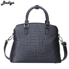 New 2017 Fashion 3 pcs in 1 Bag Set Women Office Handbag Alligator Pattern Clutch Bag