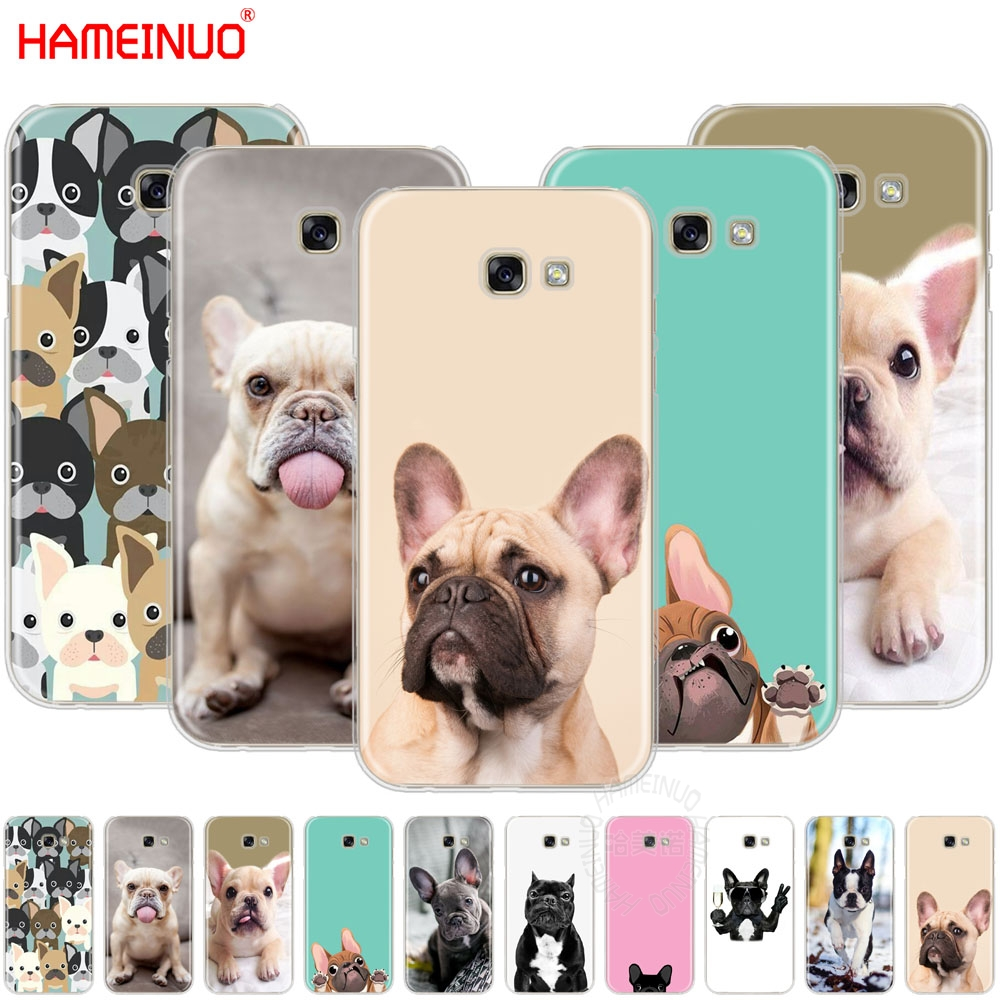 HAMEINUO French Bulldog Puppy cell <font><b>phone</b></font> <font><b>case</b></font> cover for <font><b>Samsung</b></font> Galaxy A3 A310 <font><b>A5</b></font> A510 A7 A8 A9 <font><b>2016</b></font> 2017 image