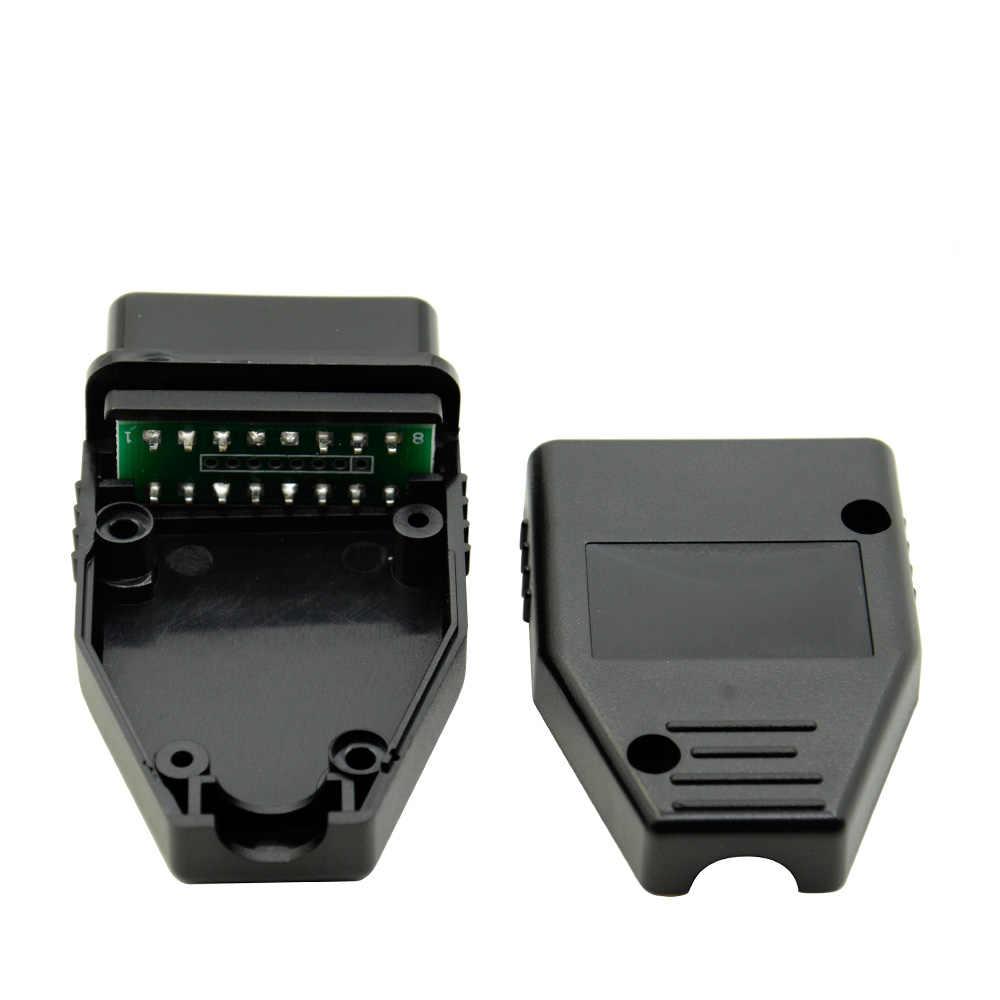 Wholesale Universal OBD2 OBDII EOBD JOBD ODBII EOBD2 OBD 16 Pin Male Auto Diagnostic Tool Connector Best price