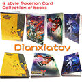 Аниме Открытки Коллекция книг Pokeball Пикачу Карты Карта Коллекция Детей отличный Подарок Игрушки Игры Dianxiatoy