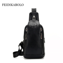 Feidikabolo famous brand theftproof magnetic button open leather mens chest bags fashion travel crossbody bag man.jpg 250x250