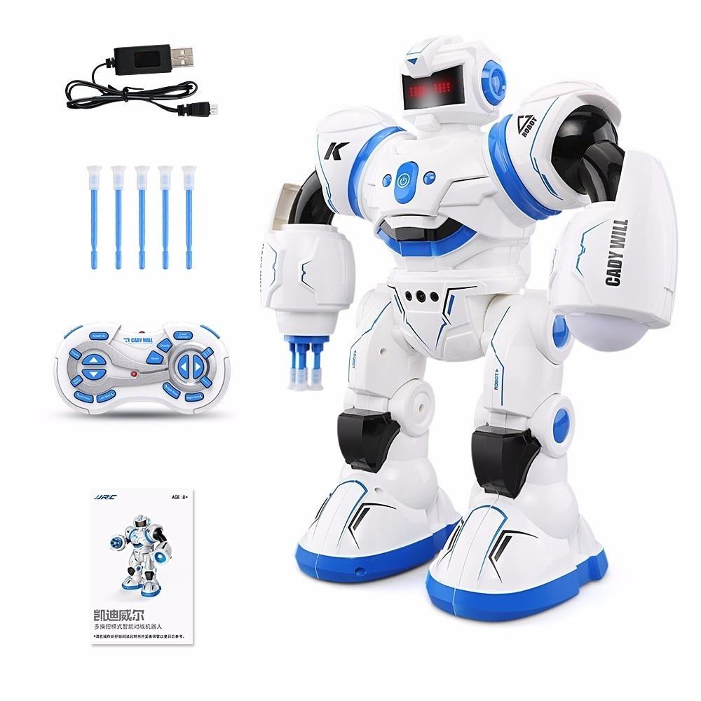 JJRC R3 RC Robot Kit CADY WILL Sensor Control Intelligent Combat Dancing Gesture Robot Toys for Kids Christmas Gift VS R1 R2
