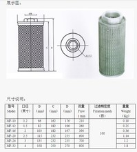 1.2/1.5/2/2.5/3/4 inches air  filter for high pressure ring blower